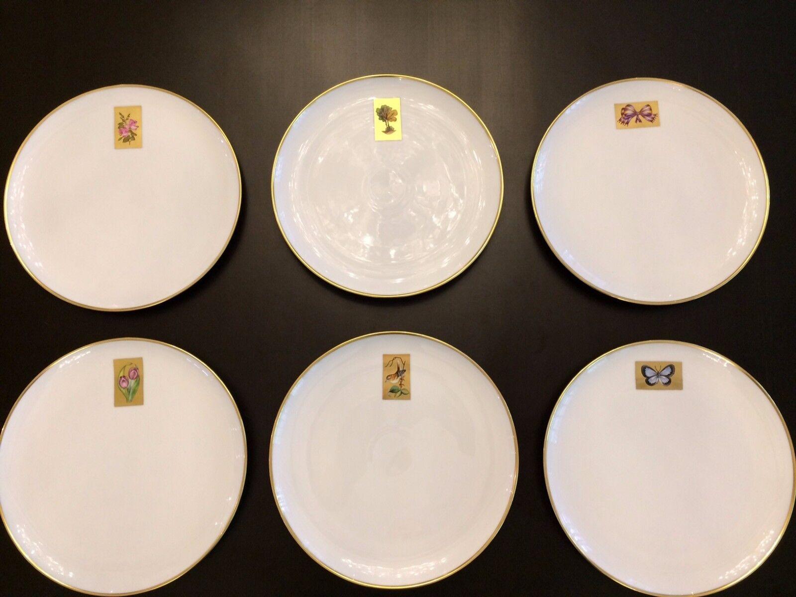 Herend Ungarn Teller handbemalt Rosan Rosan Rosan Goldrand Hermitage Orient Onyx 27 cm | Fairer Preis  c131c6