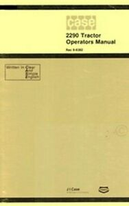 Case-2290-Tractor-Owners-Operators-Manual