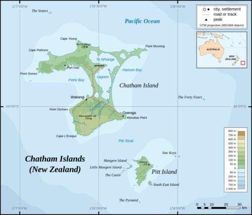 CHATHAM ISLANDS 1 KOHA 2013-2014 UNC POLYMER