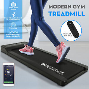 Electric-Portable-1300W-Motorized-Under-Desk-Treadmill-Walking-Pad-Running-w-RC