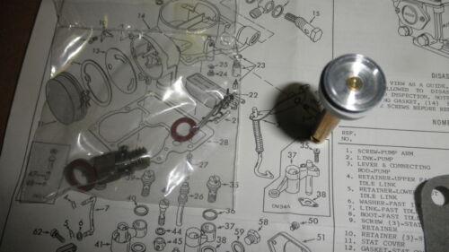 Toyota#04211-40051 67-69 Corona,Stout,Hilux 3RC Aisan Carburetor Reb.Kit#37-5051