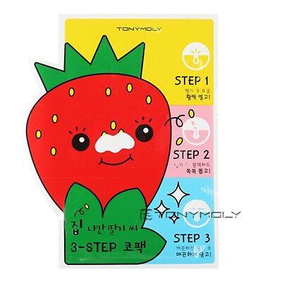 [TONYMOLY]  Mr.strawberry 3-STEP Nose pack 6g / korea cosmetics