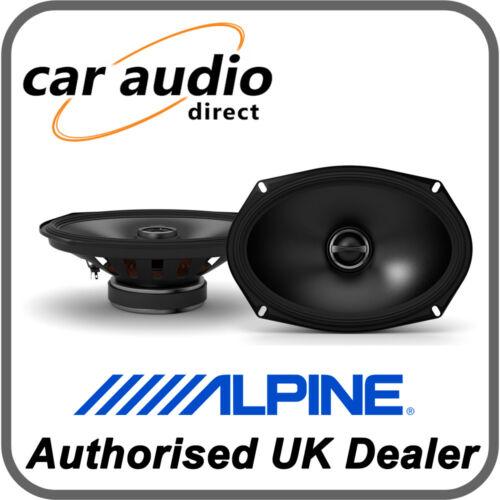 "Alpine S-S69 6 X 9/"" 16 X 24 cm 260 W 2-Way Altavoces Estéreo Audio Coaxial Estante"