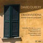 Observations: Seventeen Songs and a String Quartet (CD, Jun-2014, Metier)