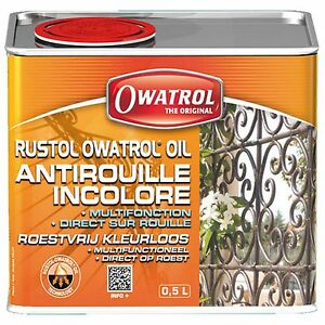 RUSTOL-OWATROL-500-ml-DIRECT-ROUILLE-INCOLORE-STOPPE-LA-ROUILLE
