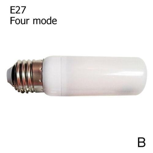 LED Flammen Effekt Feuer Glühbirne Mais E27 9W Simulierte Natur Flicking Lampe B