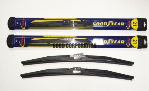 1999-2010 Jeep Grand Cherokee Goodyear Hybrid Style Wiper Blade Set of 2