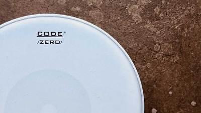 """CODE 13 """" Inch Zero Snare Head Drum Skin piccolo batter reverse dot single ply"""