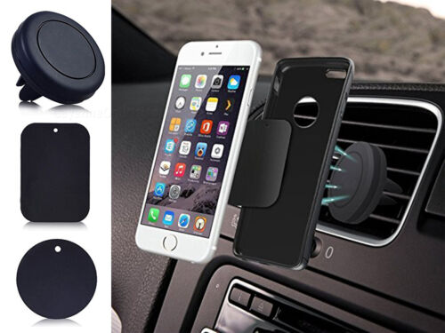 Magnet Car Phone Holder - Universal Air Vent Mount - Magnetic Car Cradle Aces