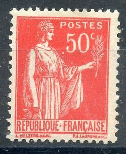 TIMBRE-FRANCE-NEUF-N-283-TYPE-PAIX-photo-non-contractuelle-charniere