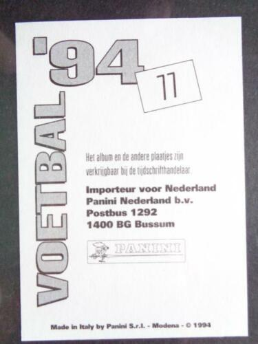 PANINI VOETBAL/'94-Michael MOLS FC Twente #77