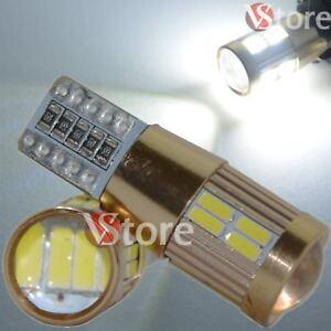 2 Lampade T10 LED HID 20SMD 4014 canbus No Errore Luci BIANCO Fari Posizione