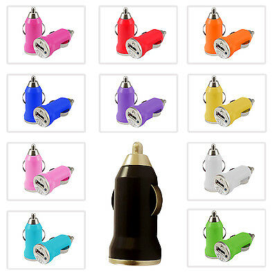 MINI USB BULLET CAR CHARGER PLUG ADAPTER FOR BLUETOOTH MP3 WATERPROOF SPEAKER