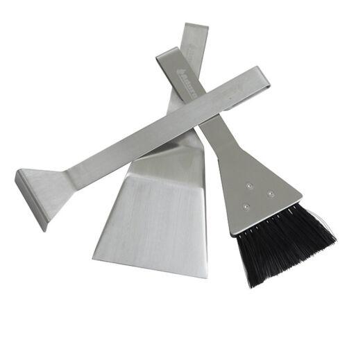 Aduro magnetic Tools chimenea cubiertos 3 piezas en plata chimenea accesorios conjunto de chimenea