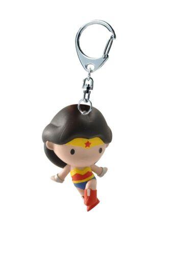 PLASTOY CHIBI Wonder Woman PortaChiavi Key Chain Justice League DC Comics