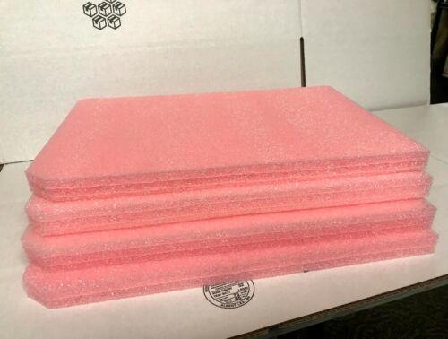 "LOT 4 ANTI STATIC Firm Foam 3 Layered Shipping Packing Sheets 17/"" x 11.75/"" x 1/"""