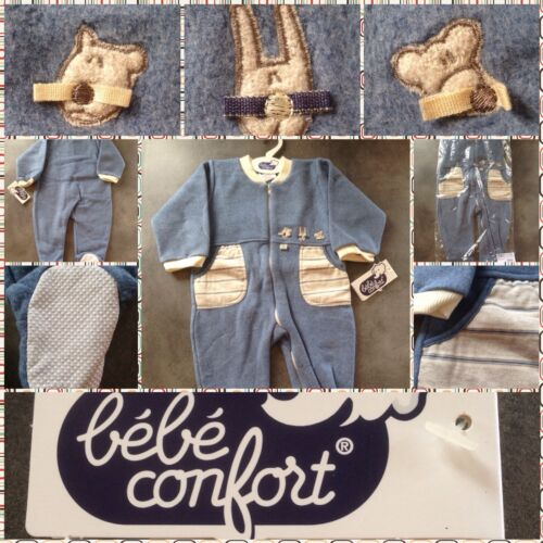 LUXURY BEBE CONFORT ALL IN ONE BABY GROW//SLEEP SUIT ZIPPED FRONT 18 MONTHS 81CM