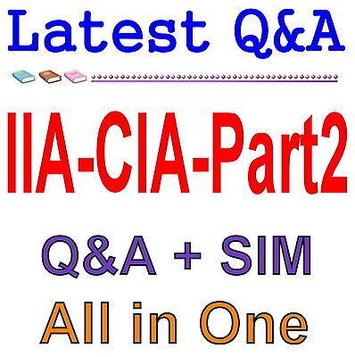 Certified Internal Auditor Part 2 For CIA Exam Q&A PDF+SIM