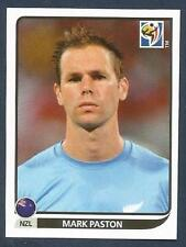 PANINI-SOUTH AFRICA 2010 WORLD CUP- #450-NEW ZEALAND-MARK PASTON