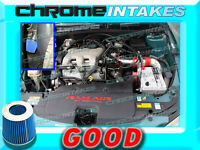 Red Blue 97 98 99 00 01-03 Chevy Malibu 3.1 3.1l V6 Full Cold Air Intake 3pc