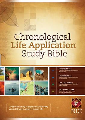 1 of 1 - Chronological LASB NLT HB (New Living Translation), Acceptable, Tyndale House, B