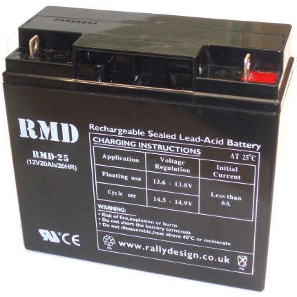 RMD Racing Motorsport 25 Car 12v 20Ah Battery