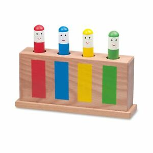 Image Is Loading Galt Toys Wooden Retro Pop Up Toy