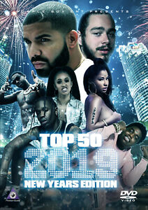Details about TOP 50 HIP HOP R&B NEW YEARS 2019 MUSIC VIDEOS CARDI B POST  MALONE DRAKE GUCCI