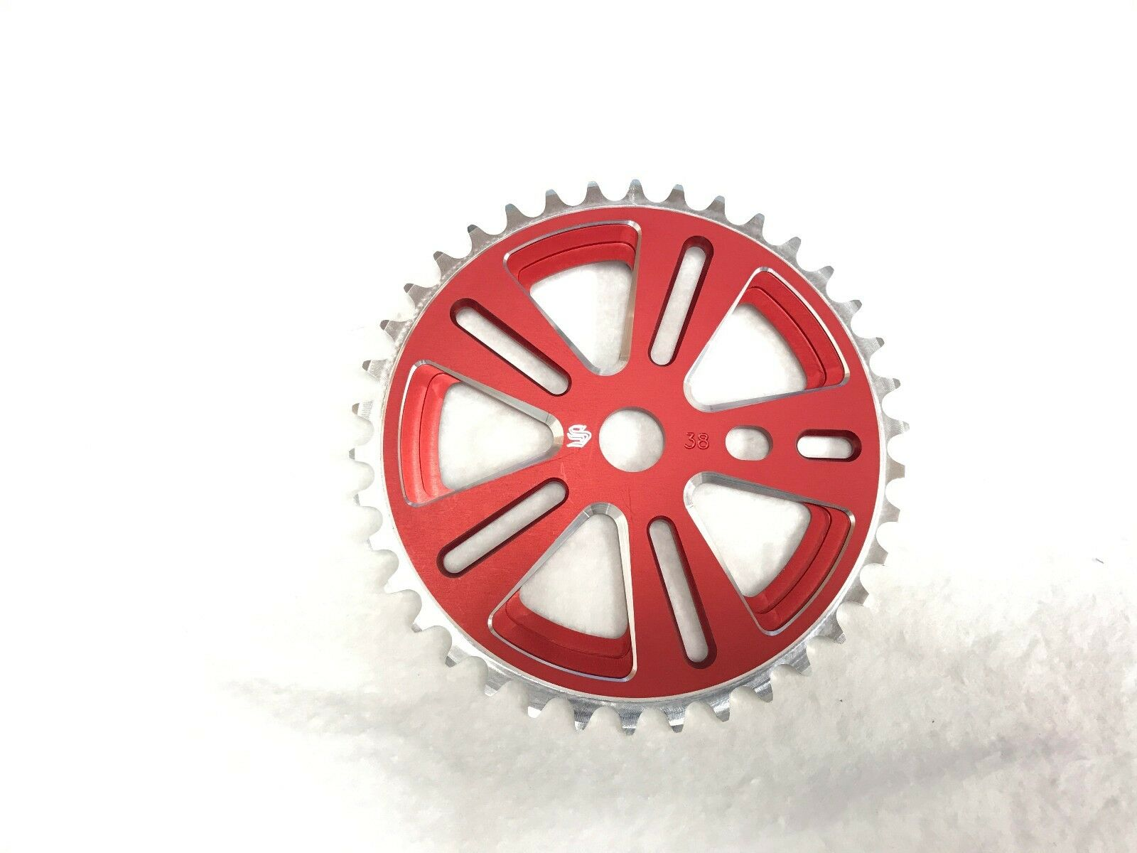 Snap BMX Products Series II Chainwheel - 38t Red
