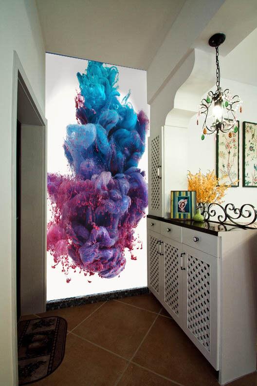 3D Farbe mist Art 1 WallPaper Murals Wall Print Print Print Decal Wall Deco AJ WALLPAPER 66b1cb