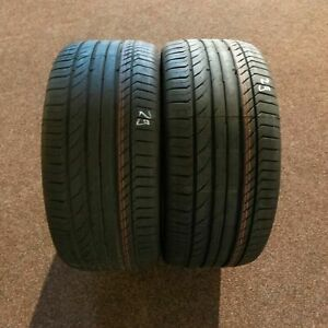 2x-CONTINENTAL-ContiSportContact-5-245-40-r18-95y-Dot-0618-Runflat-SSR-NEUF