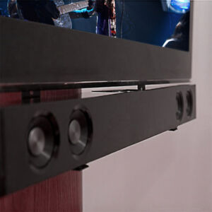 Steel-Sound-Bar-Speaker-Bracket-Mount-Shelf-Above-Below-TV-26-70-034-Home-Cinema
