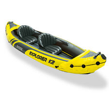Intex Canoa kayak gonfiabile + remi 2 posti Explorer K2 sport mare lago 68307NP