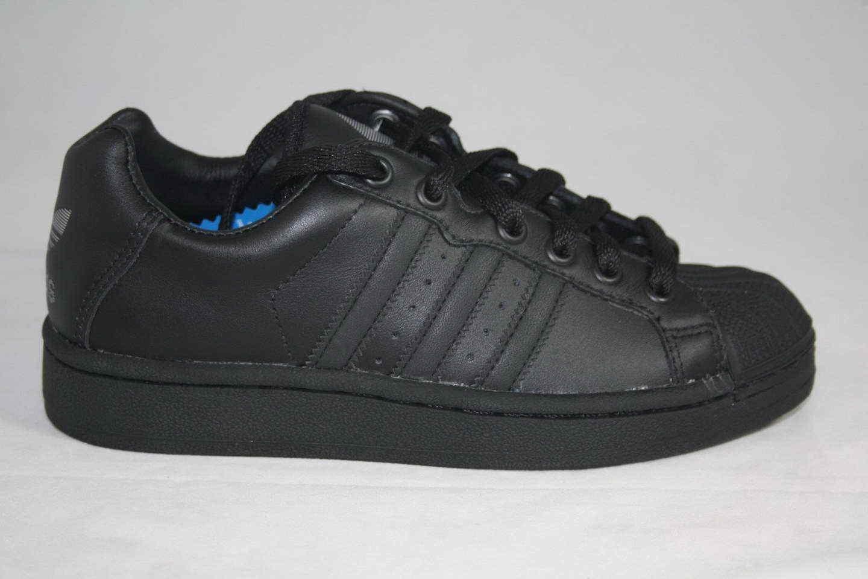 Adidas ultrastar superstar sz basso uomini sz superstar 4 / donne sz 5,5 scarpe neri 020899 nuova 593ac2