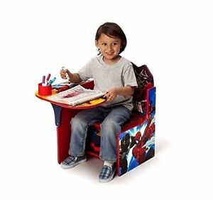 Astonishing Details About Kids Spiderman Table Chair Set Toddler Activity Play Art Desk With Bin Storage Andrewgaddart Wooden Chair Designs For Living Room Andrewgaddartcom
