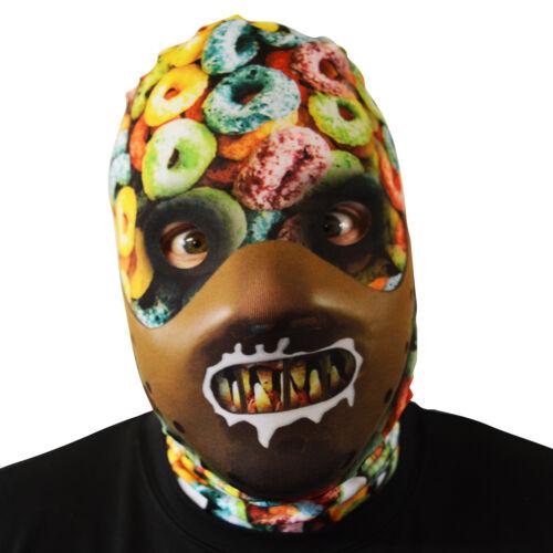Cereal Killer Serial Murderer Design 3D Effect Lycra Fabric Face Mask FS041