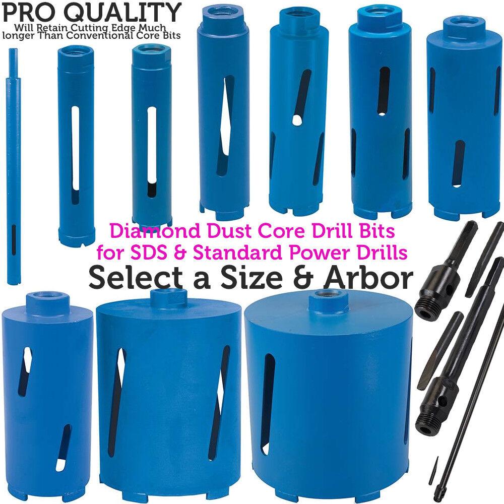 *Select a Size* Diamond Core Drill Bit Hole Cutter Brick Wall / Concrete Block