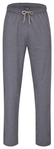 L AMMANN Herren Marken Hose lang Pyjamahose Freizeithose  anthrazit  Gr