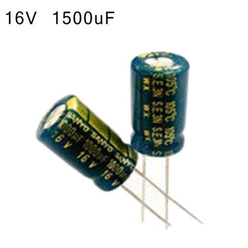 50pcs Capacitor 6.3V 1000uF 1800uF 2200uF 3300uF 1000uF 3300uF Electrical Parts