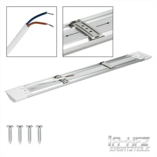 LED office lamp ceiling lamp panel construction light work room 150 cm Warm White