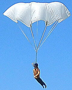 Flare-Parachute-36-034-NEW-Original-USA-4-Rocket-Toy-Or-RC-Qty-1