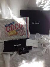 CHANEL 2017 Coco Cuba Canvas Drive-O Case Clutch Handbag