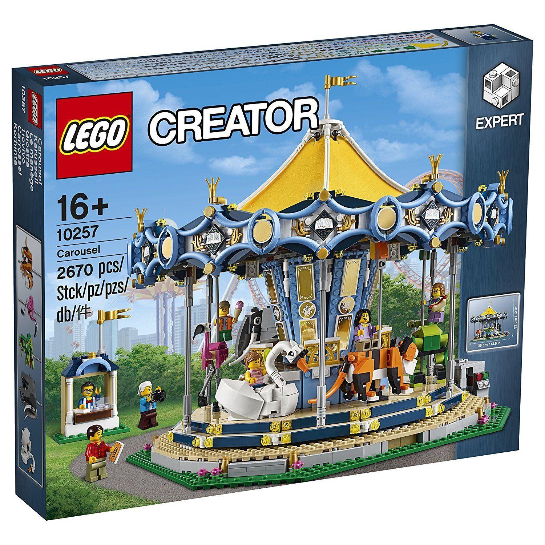 LEGO Creator 10257 - - - carrousel (Carrousel). Comprend pas 2670 pièces 16 ans 1853ed