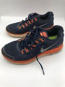 866a816b333b Nike Lunarglide 4 Men s Running Shoes 524977-408 Blue Orange US Size ...