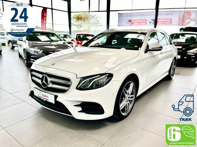 Mercedes E220 d 2,0 AMG Line stc. aut. 5d - 429.700 kr.