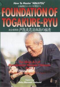 Ninja-Hatsumi-Togakushi-ryu-Theory-of-Ninjutsu-DVD-region-free-Japan