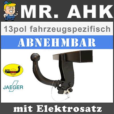 E-Satz AUTO-HAK Jeep Wrangler JK ab 07 AHK Anhängerkupplung abnehmbar 13pol uni