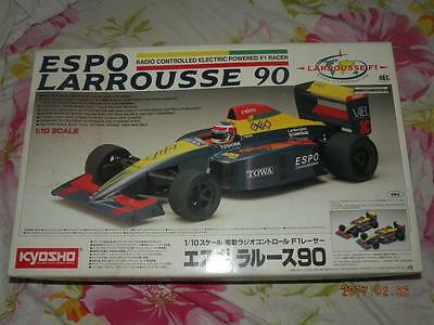 Kyosho 1/10 R/c F1 Espo Larrousse 90 Kit #4203 No Missing Parts Rc Model Vehicles & Kits