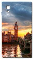 CUSTODIA COVER CASE BIG BEN TRAMONTO LONDRA CIELO LONDON PER LG OPTIMUS L9 P760