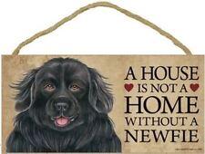 "Newfoundland Dog Fridge Magnet /""A HOUSE IS NOT A HOME/"" by Starprint"